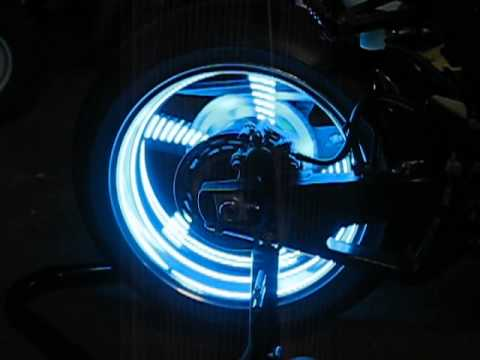 MOTORCYCLE WHEEL LIGHT KIT