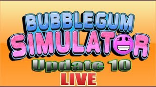 UPDATE 10 - Bubblegum Simulator - Roblox - LIVE