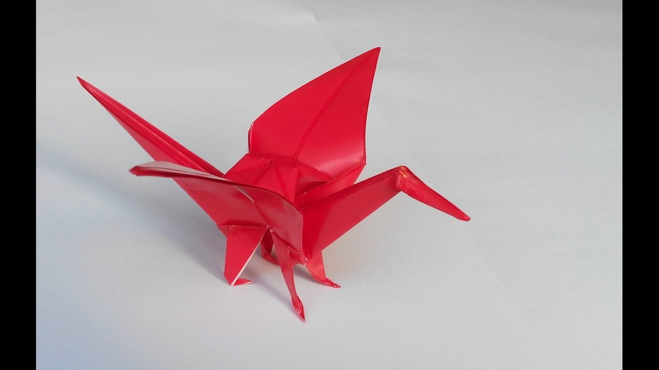 Origami Crane  How to Fold a Traditional Paper Crane