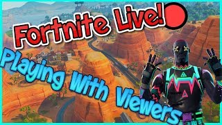 Fortnite mobile live with viewers CUSTOMS later code ken123 na east