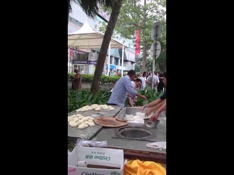 Outside Muslim Hotel - Shenzhen after friday praye
