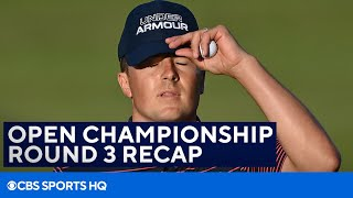 Jordan Spieth Chokes on Final Hole [BRITISH OPEN ROUND 3 RECAP]