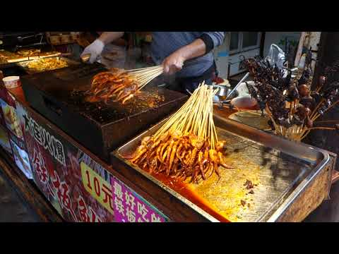 Traditional China cuisine at an Ancient town