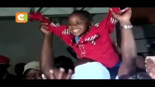 VIDEO: Kidnapped boy Kelson Kimani reunited with his parents