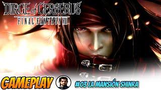 🎮Dirge of Cerberus: FF7 03 La Mansión Shinra - DIRECTO HD 1080 PS2 en Español