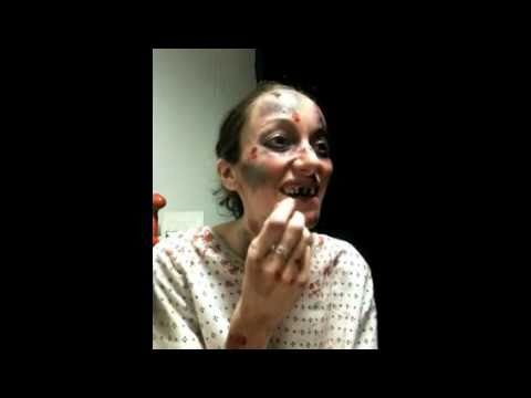Scary Mental Patient Make Up