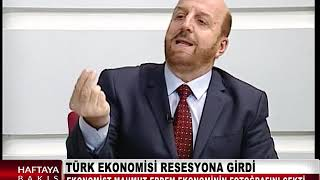 TÜRK EKONOMİSİ RESESYONA GİRDİ