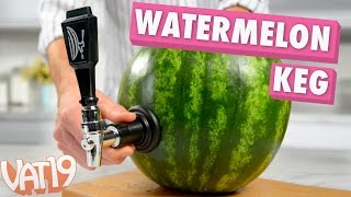 Turn a Watermelon into a Keg