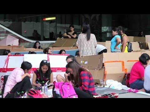 Philippine domestic helpers seek better future in Hong Kong