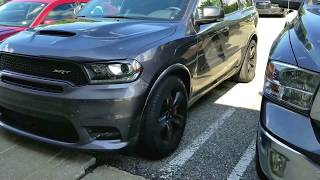 2018 DODGE DURANGO SRT WITH PRICING AND OPTIONS