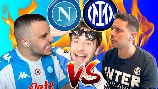 Napoli VS Inter - BOTTA e RISPOSTA ● Fius gamer VS Luca Mastrangelo