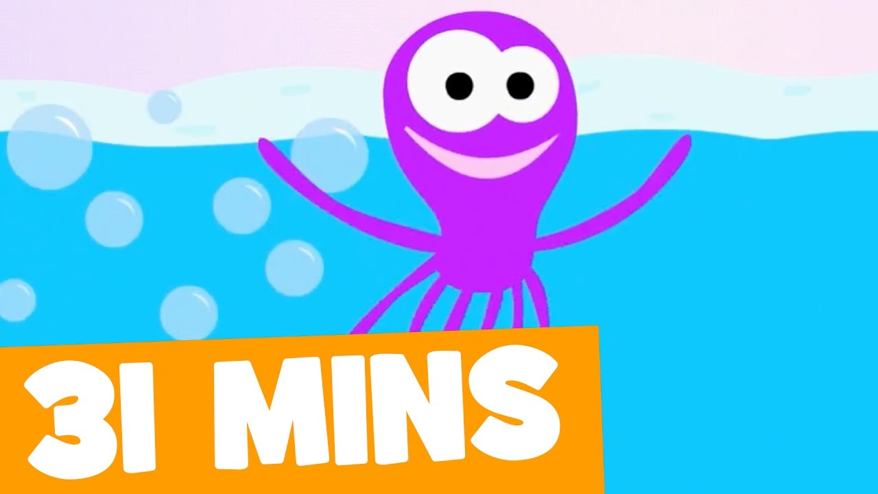 Octopus Song and More | 31mins Songs Collection for Kids - YouTube