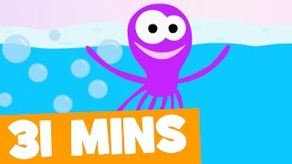 Octopus Song and More | 31mins Songs Collection for Kids