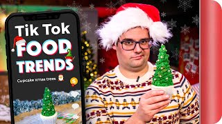 "A Chef Reviews ""Christmas"" TIK TOK Food Trends!"