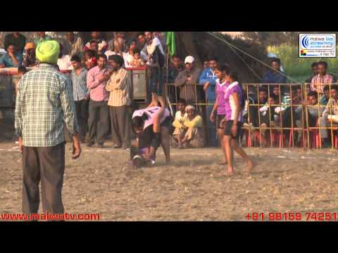 MALLIAN KHURD (Nakodar-Jalandhar) Kabaddi Tournament - 2014. Part 2nd.