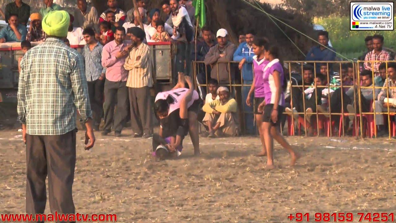MALLIAN KHURD (Nakodar-Jalandhar) Kabaddi Tournament - 2014. Part 2nd.
