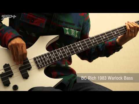 【デジマートNew Gear Showcase】B.C.Rich / 1983 Warlock Bass