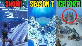SEASON 7 SNOW UPDATE CONFIRMED! LUCKY vs EPIC vs FUNNY - Fortnite Funny Moments
