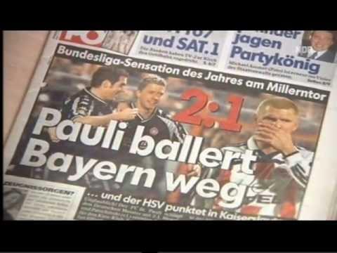 Weltpokalsiegerbesieger Sportclub Reportage über das 2:1 St. Pauli - Bayern München vom 6.2.2002