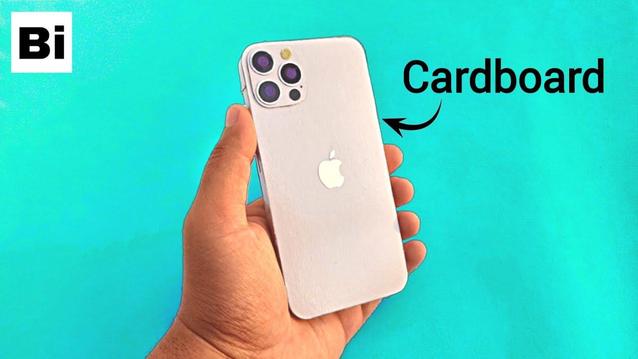Diy iPhone 12 Pro from Cardboard