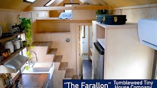 "Non-Loft Sleeping: The NEW Tumbleweed ""Farallon"" Tiny House"
