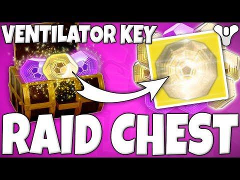 "Destiny 2 - ""VENTILATOR KEY"" Secret Chest Location In LEVIATHAN RAID! (How To Get Ventilator Chest)"