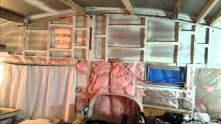 1971 Sprite 400 Caravan Rebuild (2013-14)