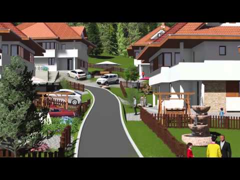 3D Modeling and Animation by BNpro Sarajevo - Countryside Resort Sarajevo