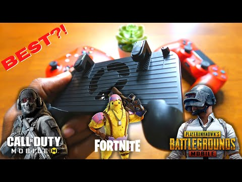BEST CHEAP PUBG COD Fortnite Mobile Triggers!? - 4 IN 1 Controller REVIEW