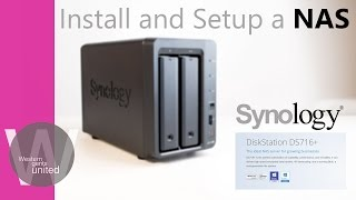Install and set up a NAS: Synology DS716+