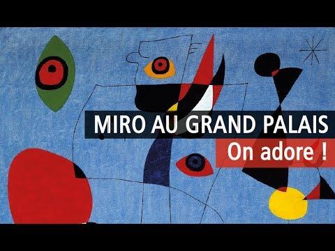 Joan Miró au Grand Palais - Vidéo exposition YouTube