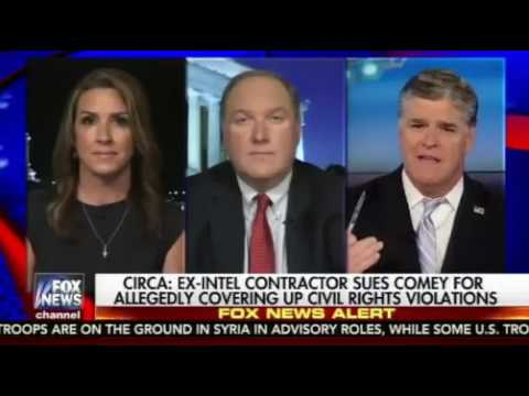 Sean Hannity   Comey Sued For Covering Up Civil Rights Violations