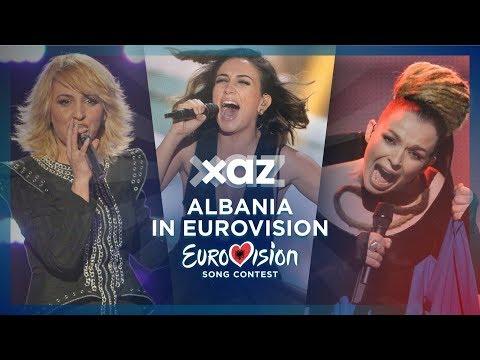 Albania in Eurovision - Top 8 (2010-2017)