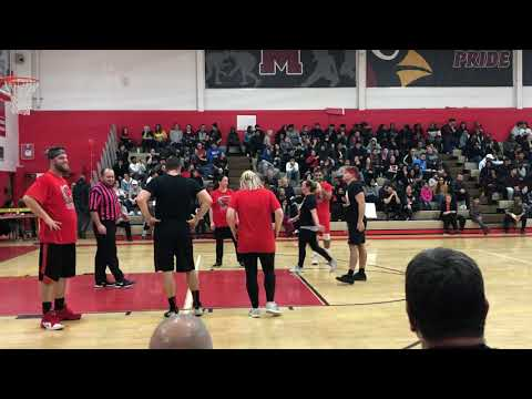Melvindale Teacher Basketball Game 11-30-2018