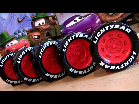 cars 2 tire storage collection takara tomy youtube
