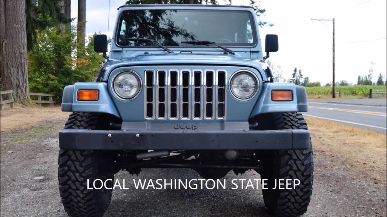 1997 jeep wrangler sport tj 4 0l 6 cyl 5 spd manual 4x4 youtube rh youtube com jeep wrangler tj manual transmission fluid jeep wrangler tj manual vs automatic