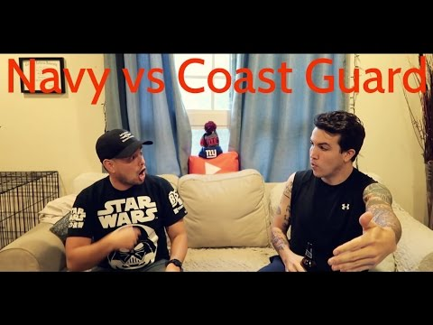 Navy vs Coast Guard Q&A - (small boat ops, best females, daily life, swim and fish calls)