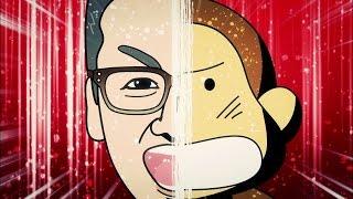 HBCのマスコットキャラクター「もんすけ」と、今日ドキッ!のメインMC、...