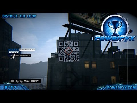 Watch Dogs - All QR Code Locations (Read-only Trophy / Achievement Guide)