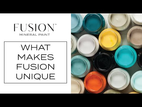 The Fusion™ Mineral Paint Difference