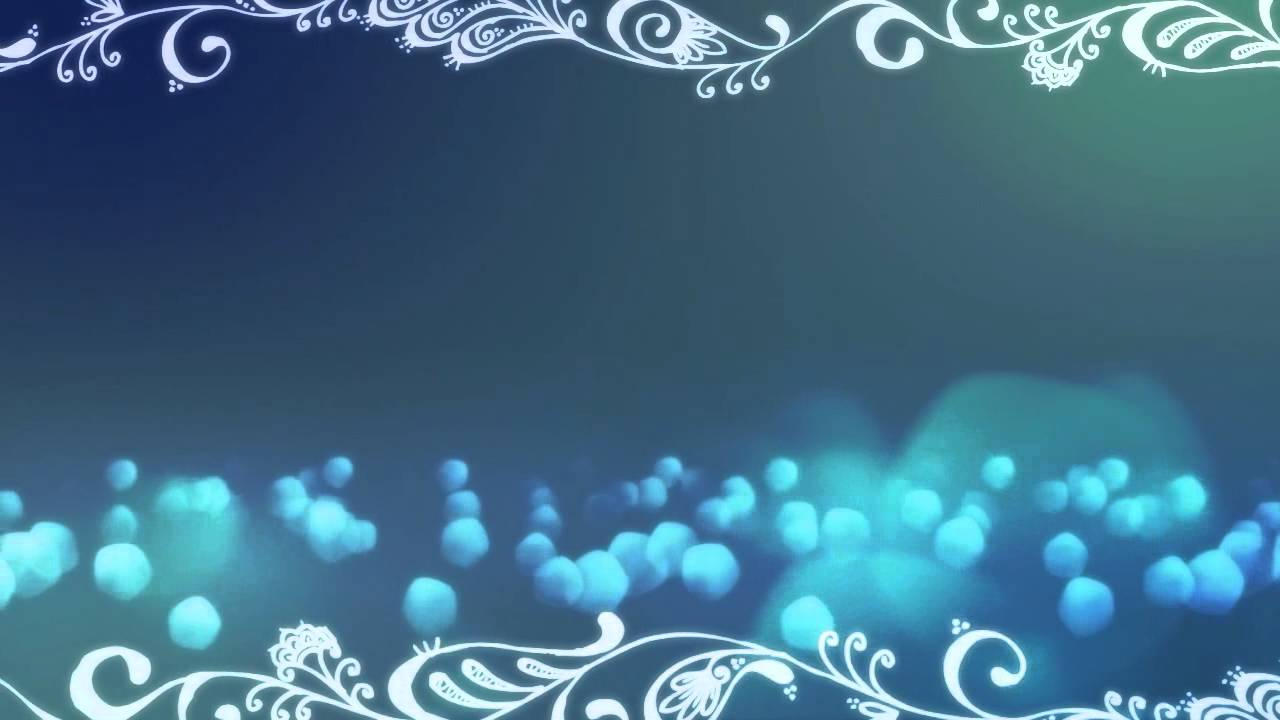 Free Bokeh Blue Slide With Swirls Background Loop Youtube