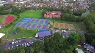 Aerial Drone Video Marketing - Wollongong Tennis Club