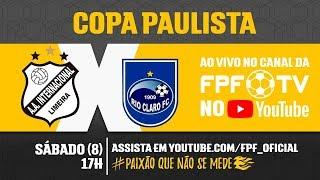 Inter de Limeira 0 x 2 Rio Claro - Copa Paulista 2018