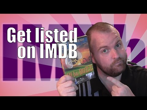 Get your FILM listed on IMDB