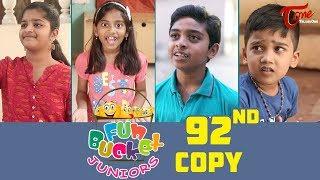 Fun Bucket JUNIORS Episode 92 Comedy Web Series By Nagendra K TeluguOne
