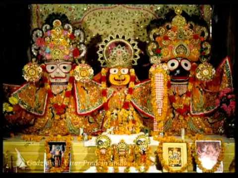 Darshan (Jagannatha, Baladeva, Subhadra)