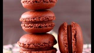 Шоколадные макаруны! Супер рецепт!