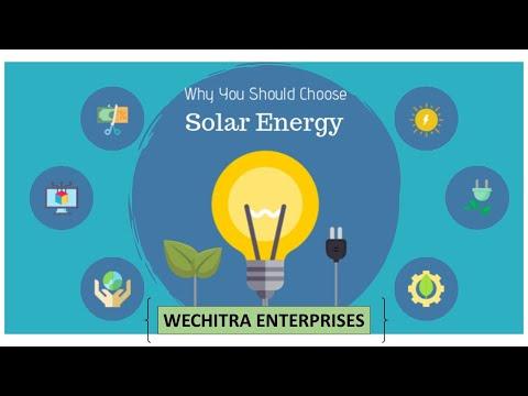 Benifits of installating solar power plant.