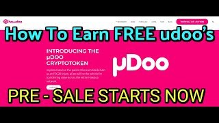 Public Pre Sale is LIVE, How to earn FREE Howdoo Tokens