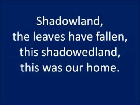 Shadowland Lyrics - The Lion King